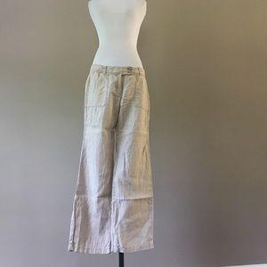 Vineyard Vines Linen Pants, Women's Size 6